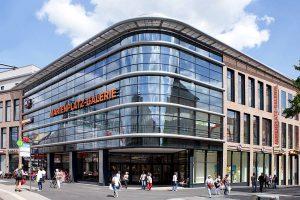 Marienplatz-Galerie nach Fertigstellung